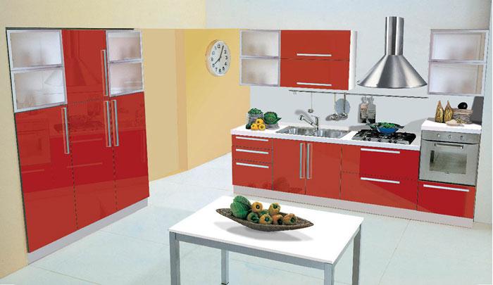 Cucine Con Vetrine ~ Ispirazione design casa